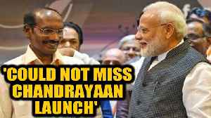 PM Modi: I could not miss Chandrayaan launch, was advised not to go| OneIndia News [Video]