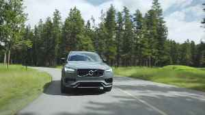 2020 Volvo XC90 Polestar Driving Video [Video]