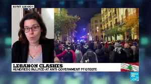 Hundreds injured in anti-government protests in Lebanon [Video]