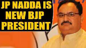 JP Nadda takes over as new BJP President, Amit Shah hands over reins| OneIndia News [Video]