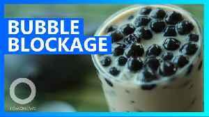 China teen gets intestinal bubble tea blockage [Video]