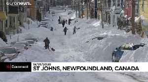 Canadian Army sent to Newfoundland after blizzard throws down over 2 feet of snow [Video]