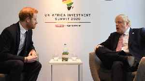 Prince Harry And Boris Johnson Meet African Leaders In London [Video]