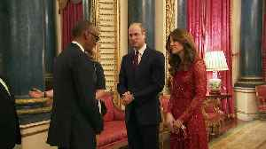 William and Kate host palace reception for African leaders [Video]