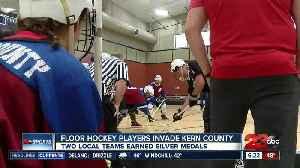 Special Olympics Floor Hockey tourney held in Bakersfield [Video]