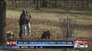 Disc Golf Competition raises money for Food Bank [Video]