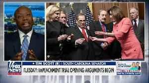 Tim Scott says Dems' impeachment focus is to flip Senate [Video]
