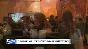 Cleveland vigil for downed Ukraine plane victims [Video]