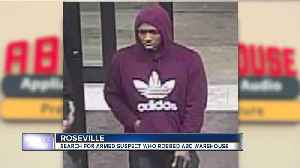 Police: Man pulled gun during robbery of Roseville ABC Warehouse [Video]