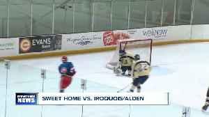HS Hockey: Iroquois/Alden beats Sweet Home 6-2 [Video]