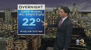 Philadelphia Weather: Dangerous Wind Chills Tonight [Video]
