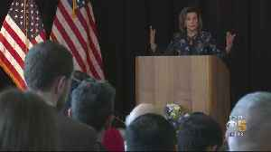 Speaker Pelosi Discusses Senate Impeachment Trial In San Francisco's Presidio [Video]
