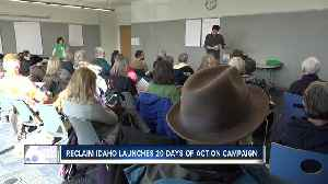 """""""Reclaim Idaho"""" Launches Statewide Tour for """"Invest in Idaho"""" Initiative [Video]"""