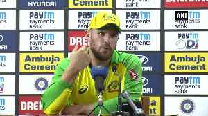 IND vs AUS We keep learning and getting better, says Aaron Finch [Video]