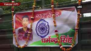 Mortal remains of Army personnel who lost his life in avalanche brought to native place [Video]