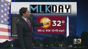 Philadelphia Weather: MLK Day Of Service Forecast [Video]