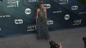 Johansson, Theron and Lopez walk red carpet at SAG Awards