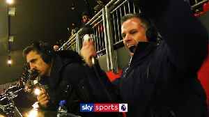 Carragher, Neville's commentary cam [Video]
