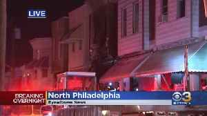 Crews Rush To Battle House Fire In North Philadelphia [Video]
