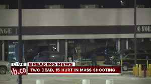 News video: 2 dead, 15 hurt in mass shooting