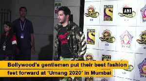 Bollywood's gentlemen look dapper at 'Umang 2020' [Video]