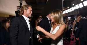 News video: Brad Pitt And Jennifer Aniston Send The Internet Wild With SAG Awards Reunion
