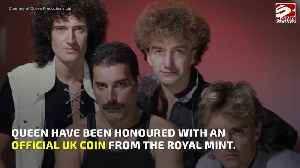 News video: Queen become first band ever to be honored on UK coin