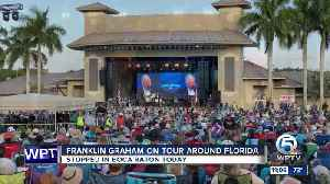 Franklin Graham stops in Palm Beach County [Video]