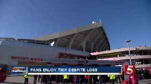 Titans fans returning home following heartbreaking loss [Video]