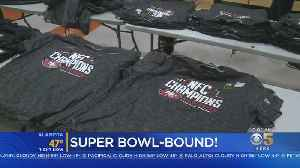 Niners Fans Swoop On NFC Championship Gear As Team Heads To Super Bowl [Video]