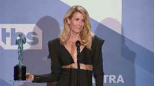 Laura Dern Calls 'Marriage Story' A 'Flawless Piece Of Art' At The SAG Awards [Video]