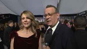 Tom Hanks Talks 'A Beautiful Day In The Neighborhood', Oscar Nomination [Video]