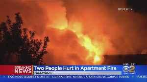 2 Hurt After Blaze Engulfs Seal Beach Apartment Complex [Video]