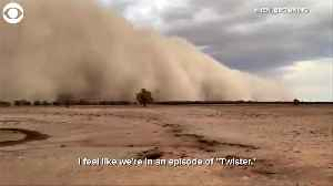 WEB EXTRA: Australia Dust Storms [Video]