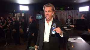 Brad Pitt, Jennifer Aniston & More In 2020 SAG Awards Trophy Room [Video]