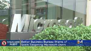 Scam Making The Rounds Affecting Microsoft Computer Users [Video]