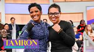 See How Tamron Hall Stays Fit & Motivated With Boxing [Video]