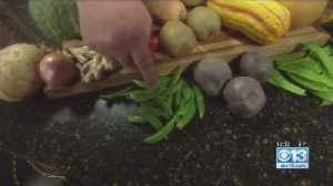 Lunch Break: Blueberries, Peaches, Sumo Citrus [Video]