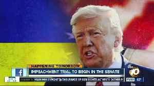 News video: Impeachment trial set to begin in Senate