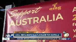 San Diego restaurants plan fundraiser for Australia [Video]