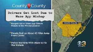 Drivers Get Lost Due To Waze App Mishap [Video]