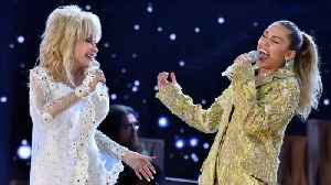 Miley Cyrus celebrates Dolly Parton's birthday with hilarious impersonation [Video]
