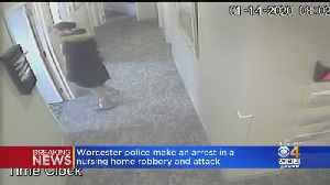 Woman Arrested For Violent Nursing Home Robbery In Worcester [Video]