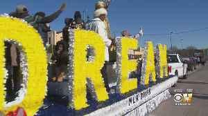 Hundreds Line Dallas Streets To Celebrate MLK Day [Video]