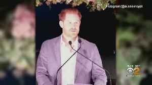News video: Prince Harry Speaks Out On 'Split' From Royals