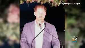 Prince Harry Speaks Publicly For First Time Since Split With Royal Family [Video]
