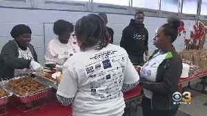 Service Project Brings Philadelphia Police Officers And Community Together [Video]