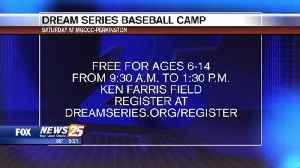 Dream Series Baseball Camp at MGCCC [Video]