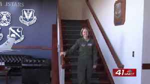 Team JSTARS receives its first female Wing Commander [Video]