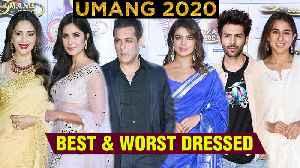 UMANG 2020 FULL RED Carpet Best And Worst Dressed | Katrina, Priyanka, Sara, Hrthik, Salman | UNCUT [Video]